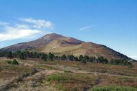 Le Pic de Tarbesou depuis le parking sous le Col de Pailheres