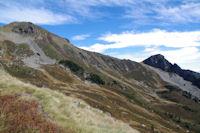 Pic de Tarbesou et Pic de la Coumeille de l'Ours depuis le Sarrat des Escales