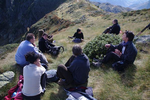 La Dream Team, Marie Françoise, Françoise, Marianne, Aurélie, Sandra, Daniel, Gilles, Lionel, Nicolas et pas Fred qui prend la photo
