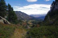 Le vallon du ruisseau de l'Estagnet