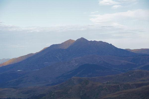 Pic de Saint Barthelémy et Pic de Soularac depuis la Crête de Mounégou