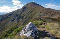 Le Pic de Tarbesou depuis le Pic de la Coumeille de l'Ours