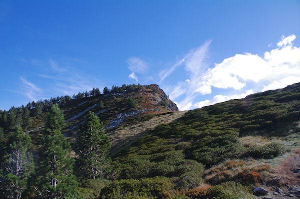 Le flanc Nord du Pic de la Coumeille de l_Ours