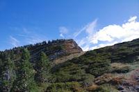 Le flanc Nord du Pic de la Coumeille de l'Ours