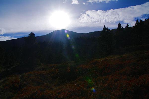 Le Pic de Tarbésou en plein soleil