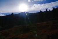 Le Pic de Tarbesou en plein soleil