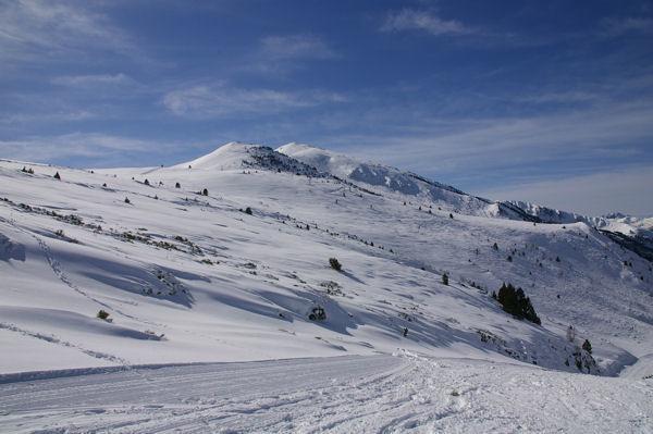 Le Picou de Mounégou et le Tarbezou depuis la Jasse de Font Nère