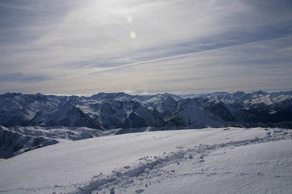Vue du sommet du Tarbezou