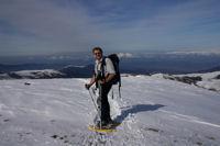 Fred au sommet du Tarbezou