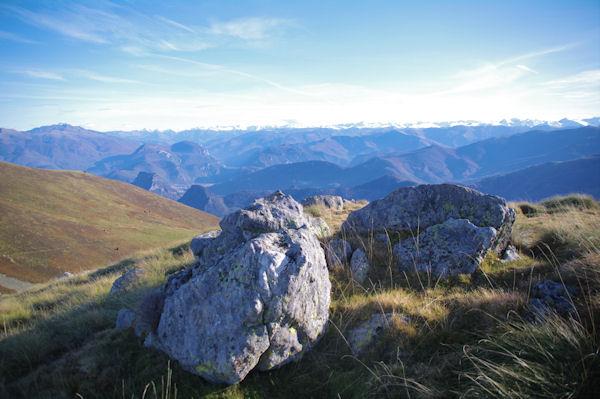 Tarascon sur Ariège depuis le Rocher de Fontanet
