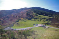 Le Col de Port domine par le Pic d'Estibat
