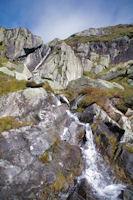 Le ruisseau d'Arbu au dessus de l'etang