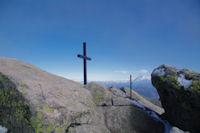 Au sommet du Pic des Trois Seigneurs