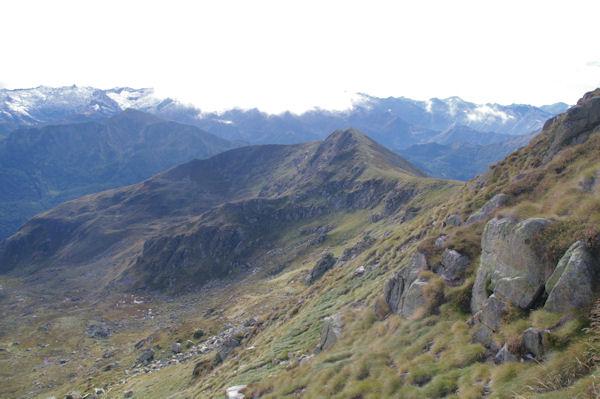 Le Pic de Fontanette depuis le Pic de Barrès
