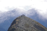 Randonneurs au Pic de Fontanette
