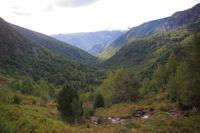 La vallee du ruisseau d'Arbu