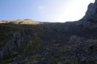 Au fond le Mont Valier