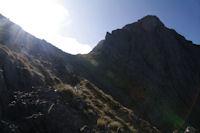 Le Col de Faustin et l'Echine d'Ane