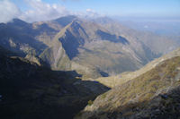 La vue en montant au Col de Faustin