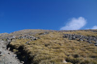 La montee vers le Mont Valier