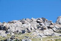 Le sommet du Mont Valier et ses deux croix