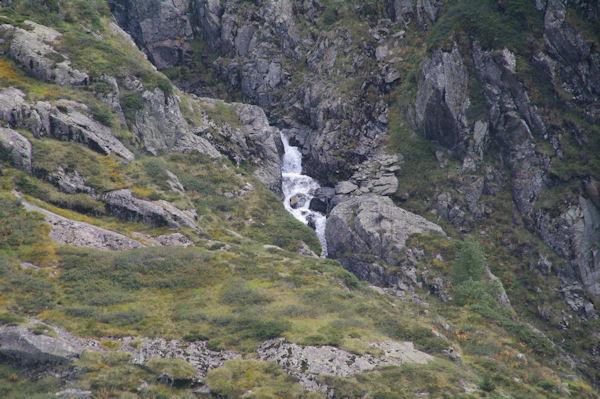 Les premières cascades du Ribérot en dessous de l_Etang Rond