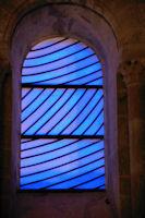 Les vitraux de Pierre Soulages s'illuminent