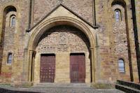 Le tympan de l'Abbaye Ste Foy de Conques