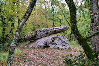 Un dolmen vers Bramaloup