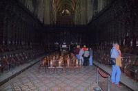Le Chœur de la Cathedrale Ste Marie, 1500 personnage sculptes dans le chene