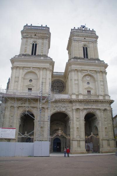 La Cathédrale Ste Marie en cours de rénovation