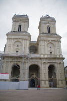 La Cathedrale Ste Marie en cours de renovation