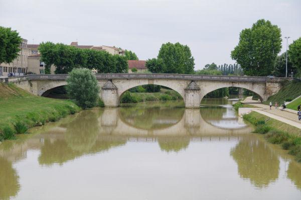Le Pont du Prieuré sur le Gers