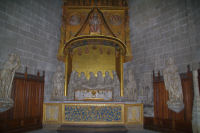 Le Christ gisant dans la Cathedrale Ste Marie