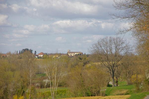 Le Monastère de Boulaur depuis Larrouy