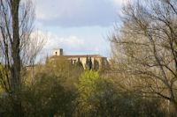 Le Monastere de Boulaur depuis La Barraque