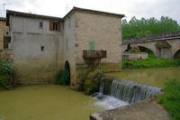 Le moulin de Gimont sur la Gimone