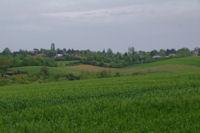 Paysage sur le Chemin d'Arles