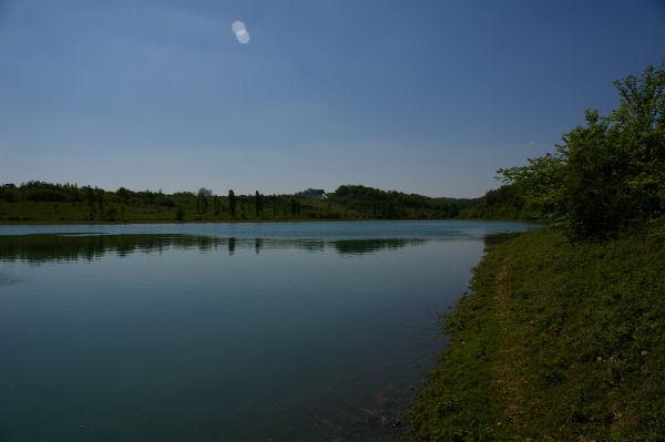 Vue de l'anse du ruisseau de bourdouat vers Arrouberts
