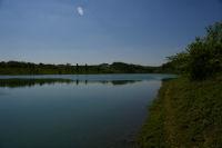 Vue de l&#39anse du ruisseau de bourdouat vers Arrouberts