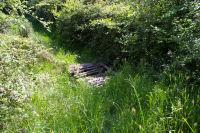 Petit pont sur le ruisseau descendant de Senac