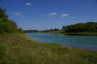 Vue depuis le fond de l&#39anse du ruisseau de Nauarque