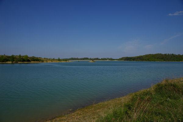 Vue vers le lac sous Moucharan