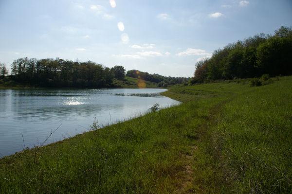 Vue de l'anse du ruisseau du Moulin