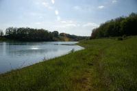 Vue de l&#39anse du ruisseau du Moulin