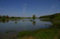 Le debut du lac