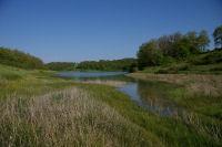 Vue du lac depuis l&#39anse du ruisseau du Moulin