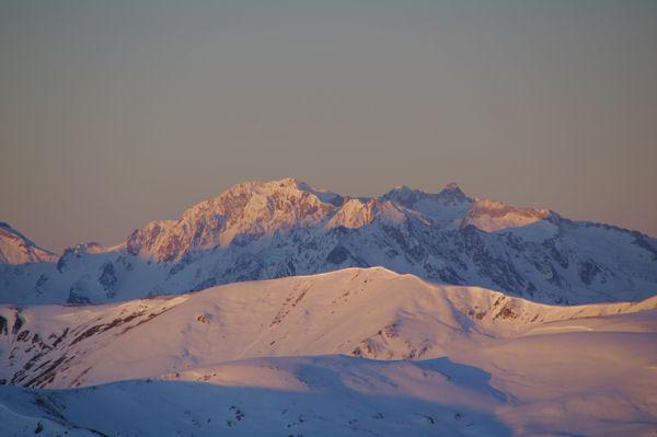 Le Pic de Campbieil, le Pic d_Estaragne, le Pic Badet et le Pic Long