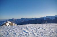 Pic du Gar, Pic Saillant et Pic de Cagire depuis le Sommet des Conques