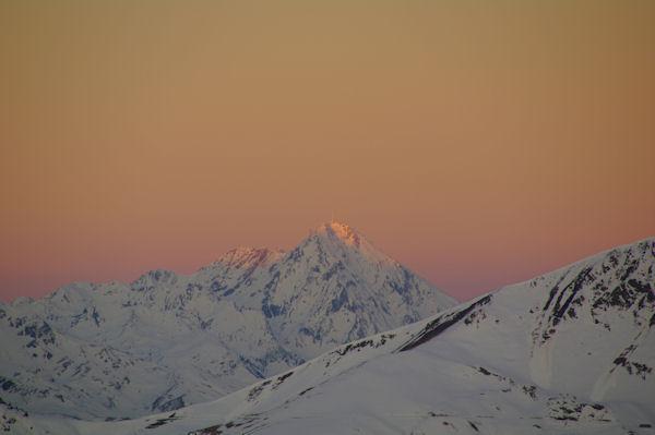 Lae Pic du Midi de Bigorre depuis le Cap de la Passade des Agnères
